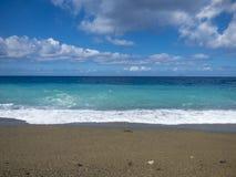 晴朗的海滩 图库摄影