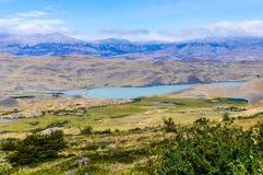 晴朗的看法,托里斯del潘恩国家公园,智利 免版税库存照片