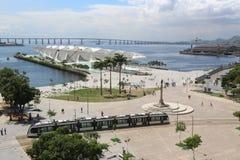 晴朗的秋天天在里约热内卢 库存照片