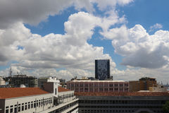 晴朗的秋天天在里约热内卢 库存图片