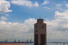 晴朗的秋天天在里约热内卢 免版税库存图片