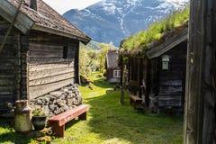 晴朗的Otternes,挪威 库存照片