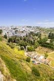 朗达全景 MÃ ¡ laga西班牙省的一个城市  图库摄影