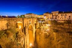 朗达西班牙桥梁 免版税图库摄影