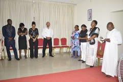 洛朗・巴博总统的母亲的最后家 免版税图库摄影