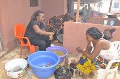 洛朗・巴博总统的母亲的葬礼 免版税库存图片