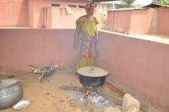 洛朗・巴博总统的母亲的葬礼 免版税图库摄影