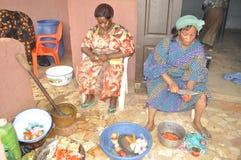 洛朗・巴博总统的母亲的葬礼 图库摄影