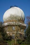 望远镜圆顶,格林威治观测所 免版税库存图片