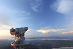 望远镜视图 免版税库存照片
