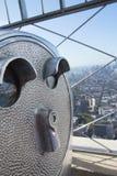 望远镜(帝国大厦(NYC) 库存图片
