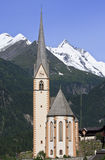朝圣教会圣文森, Heiligenblut 库存照片