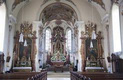 朝圣教会圣玛丽 免版税库存照片