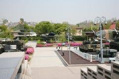 朝鲜战争的博物馆在汉城 免版税库存照片