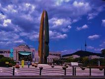 朝鲜战争纪念品在汉城 库存照片