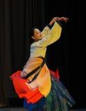 朝鲜族自转2011舞蹈课毕业音乐会党 免版税库存图片