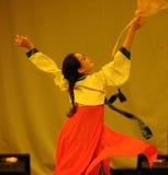 朝鲜族自转2011舞蹈课毕业音乐会党 免版税库存照片