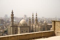 朦胧开罗的日 免版税库存图片