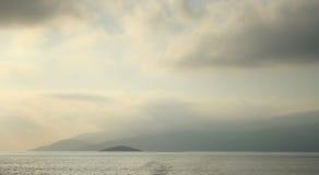 朦胧的云彩,土耳其 免版税库存图片