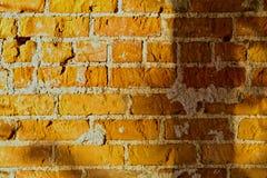 朦胧的砖墙 库存图片