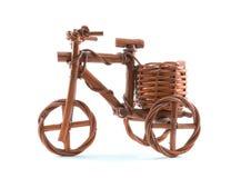 木三轮车玩具 库存图片