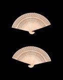 木中国的风扇 库存图片