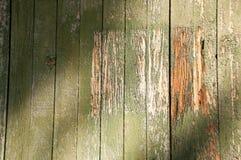 木五谷纹理困厄的老油漆 库存照片