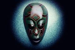 木亚洲面具演播室质量光 免版税库存照片