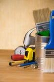 木仪器的工具 库存图片