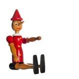木偶奇遇记,木玩具 库存图片