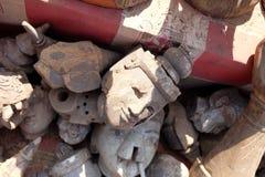 木偶对缅甸微笑着 免版税库存照片