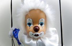 木偶小丑 免版税库存照片