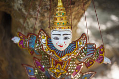 木偶的柬埔寨 免版税库存图片