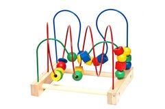 木儿童的玩具 免版税库存图片