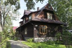木别墅在扎科帕内 库存照片