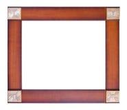 木制框架图片 免版税库存图片