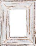 木制框架(被隔绝的内在) 库存照片