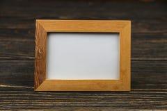 木制框架 免版税图库摄影