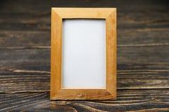 木制框架 免版税库存图片
