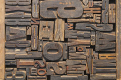 木刻版印刷 免版税库存照片