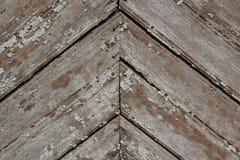 木剥落的板条背景 免版税库存图片