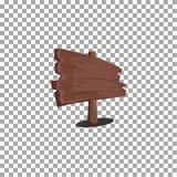 木动画片牌模板 库存图片