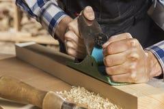 木匠实施日志概略的来回跟踪工作 免版税图库摄影