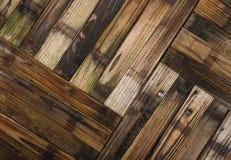 木半桶庭院大农场主板条 免版税图库摄影