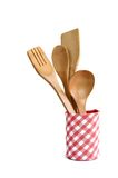 木厨房器物   免版税库存照片