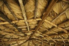 木变老的屋顶 图库摄影