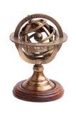木古色古香的圆环的黄铜范围的立场 库存图片