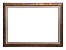 木古色古香的框架 图库摄影