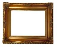 木古色古香的框架 免版税库存照片