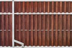 木和钢门 库存照片